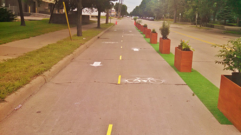 Fairview Temporary Cycle Track