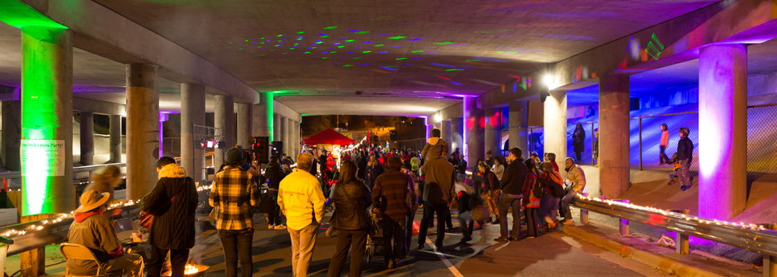 Photo Gallery: Fairview Underpass Party